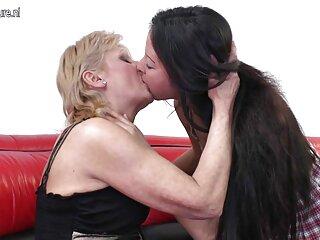 در خانه ، مردی دو دوست دختر خود را به فیلم سکس شرکت برازرس نوبه خود روی مبل لعنتی کرد