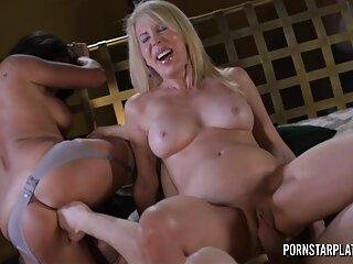 کیتی لین نتوانست مقاومت کند و گونه فیلمهای سکسی برازرس ماساژگر را گرفت.